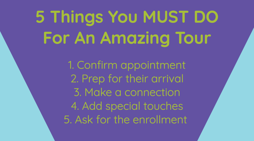 5 Things You MUST DO to Conduct an Amazing Tour
