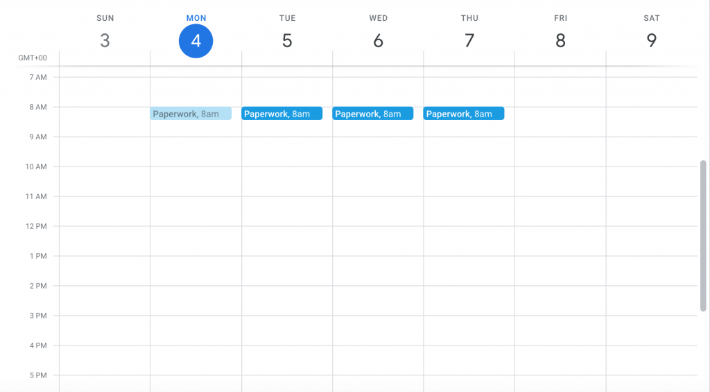 Setting Your Calendar for Success